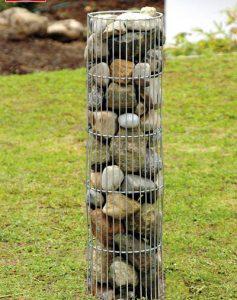 Round Stone Columns-0