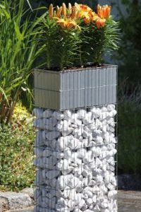 Plant Gabions With Planter-0
