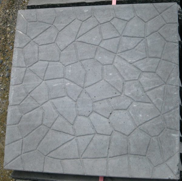 Cracked Ice Concrete Paving Slabs-1081