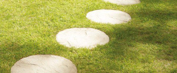 Round Sandstone Stepping Stones-1815