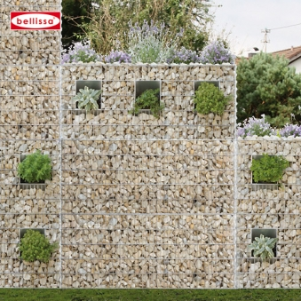 Plantable soundproofing gabions-0