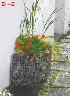 House wall flower bed-0