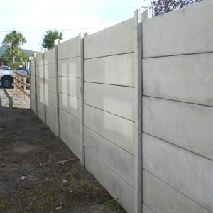Plain Panel fence