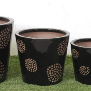 Hekla Glazed Pots-0