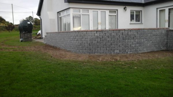 Slate Mile Stone Walling
