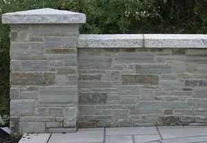 Grey Sandstone Walling