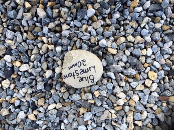 Blue Limestone Pebble-0