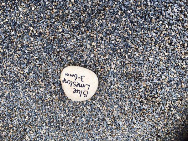 Blue Limestone Pebble-1571