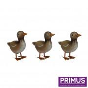 Small Metal Ducklings-0