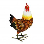 Farmyard Metal Hen-0