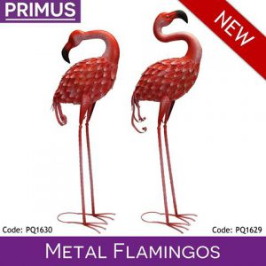 Metal Flamingo-0