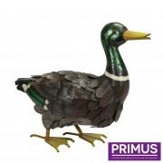 Metal Mallard Duck-0