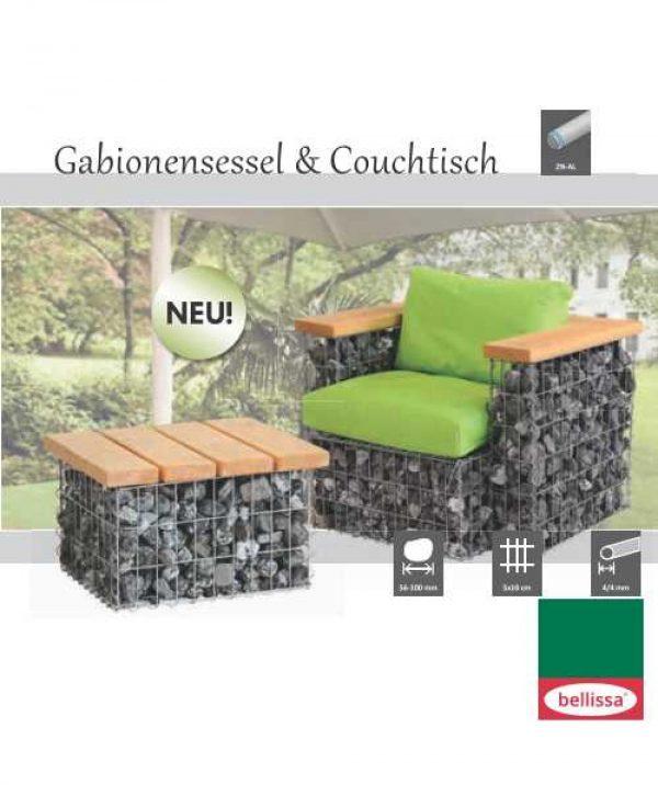 Gabion Lounge Armchair-1791