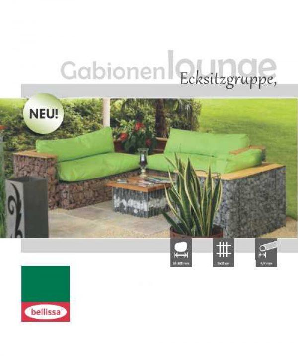 Gabion Corner Seat-1790