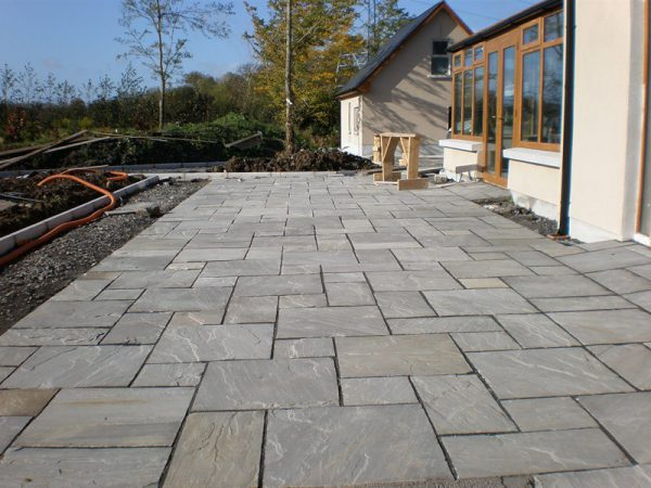 Grey Sandstone Paving-1907