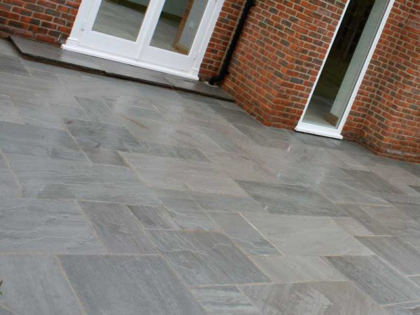 Grey Sandstone Paving-0