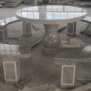 Round Table 4 Benches 1500