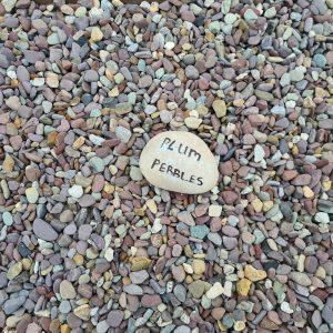 Plum Pebbles 20mm